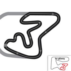 Mapa toru Poznań Karting