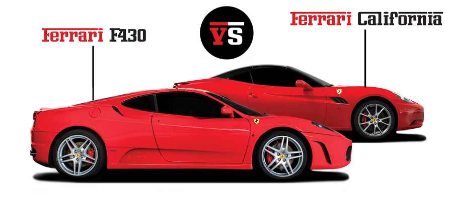 Ferrari F430 vs Ferrari California