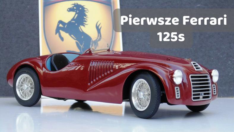Pierwsze Ferrari