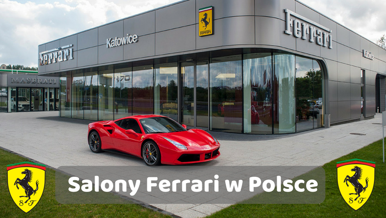 Salon Ferrari w Katowicach