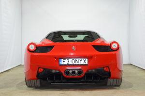 Tył Ferrari 458 Italia