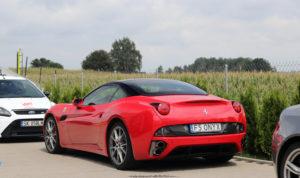 California Ferrari tył