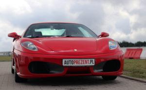 Jazda Ferrari po Warszawie