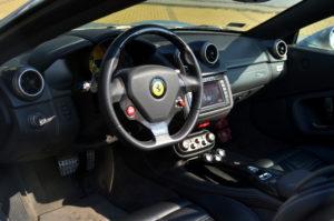 Wnętrze Ferrari