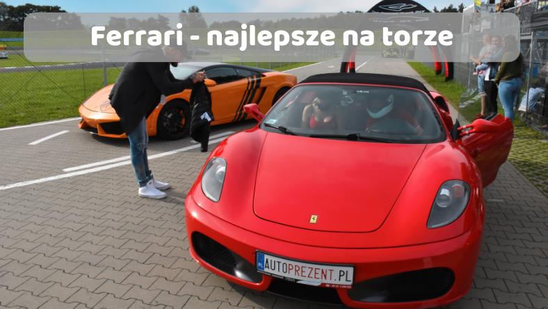 Ferrari na torze najlepsze