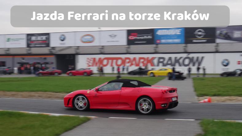 Jazda na torze w Krakowie