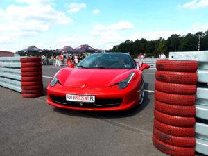 Ferrari 458 italia tor silesia ring