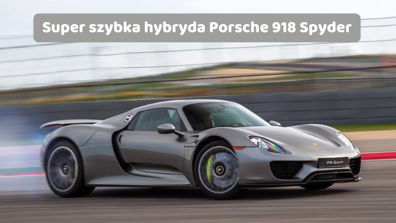 Hybrydowe Porsche
