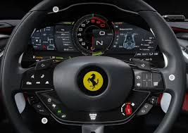 Nowe Ferrari Purosangue kierownica