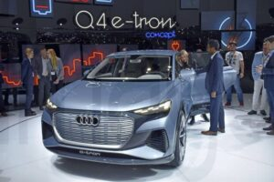 Wnętrze Audi Q4 e-tron
