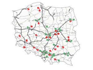 Nowe fotoradary w Polsce - lokalizacje